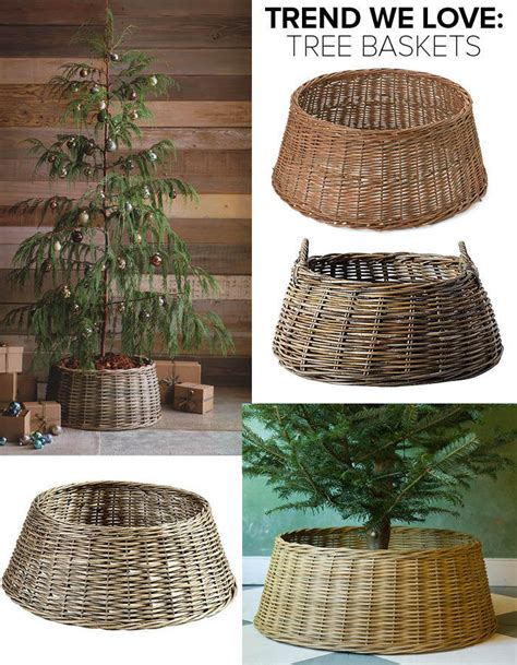 michaels christmas tree basket base trend we tree baskets trends we lonny