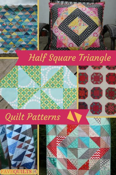 Best 25 Small Quilt Projects Ideas On Machine - 25 half square triangle quilt patterns favequilts