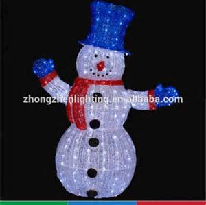 outdoor light up decorations ce wholesale outdoor light up standing snowman