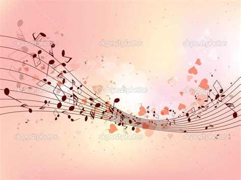 design background music abstract design background with colorful music notes