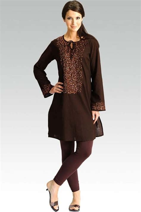 kurta back pattern pics for gt black kurta designs for women 2013