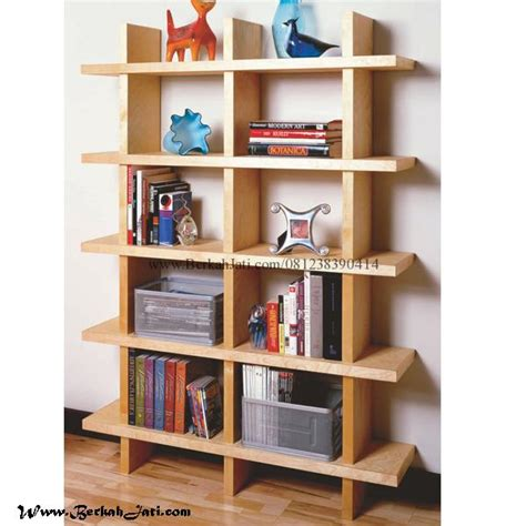 Rak Kotak Hias Furniture rak buku minimalis kayu jati kotak berkah jati furniture berkah jati furniture