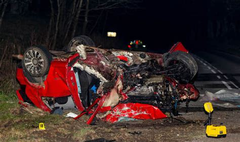 Actor Garrisons Suv Wrecks 1 Dead by Two Dead In Tragic Car Crash In Aberdeenshire Uk News