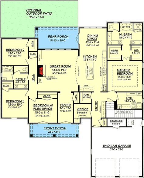 plan 56377sm 4 bed acadian house plan with bonus room house plans laundry rooms and the o jays spacious 4 bed acadian house plan 51700hz