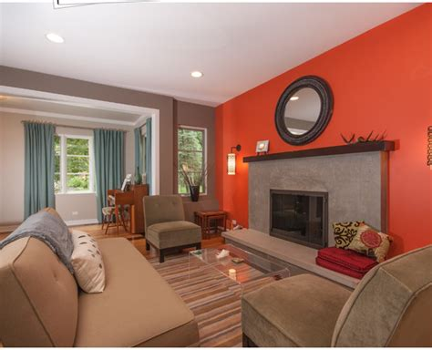 orange paint colors for living room living room paint color ideas orange combinations