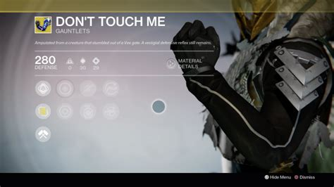 Banks Dont Touch Me Up by Destiny Weekend Sale Serves Up Great Gauntlets
