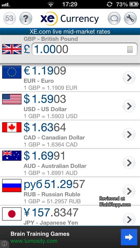 currency converter xe app xe currency on the app store