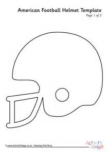 Football Helmet Template by American Football Helmet Template