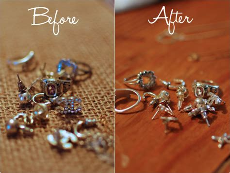 how to make sterling silver jewelry at home how to clean tarnished silver jewelry fundaymonday