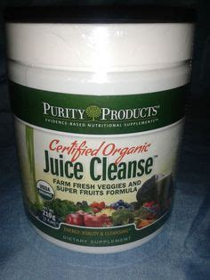 Purity Detox Drink by Purity Products Certified Organic Juice Cleanse Dietary