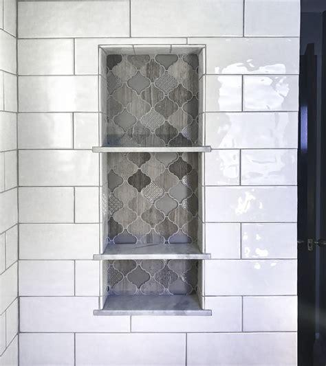 bathroom niche shelves best 25 shower shelves ideas on shower