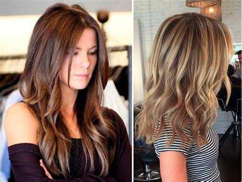 los colores de cabellos para primavera verano 2016 mechas californianas my look museros