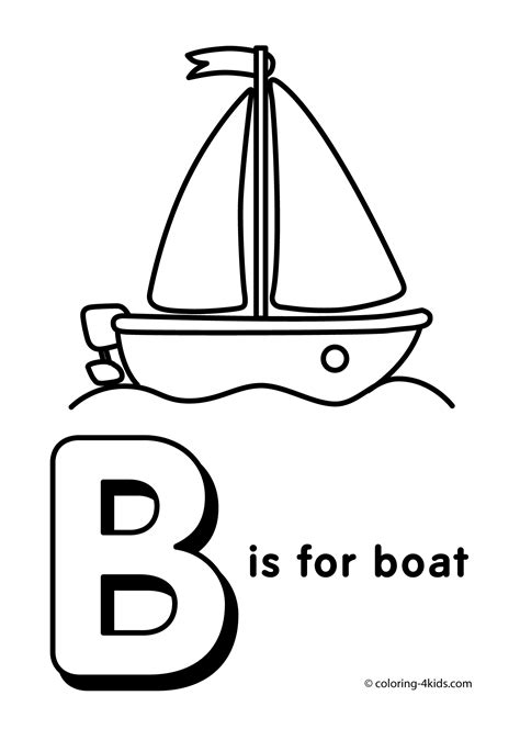 Alphabet B Coloring Pages by Letter B Coloring Page Alphabet Coloring Pages Alphabet