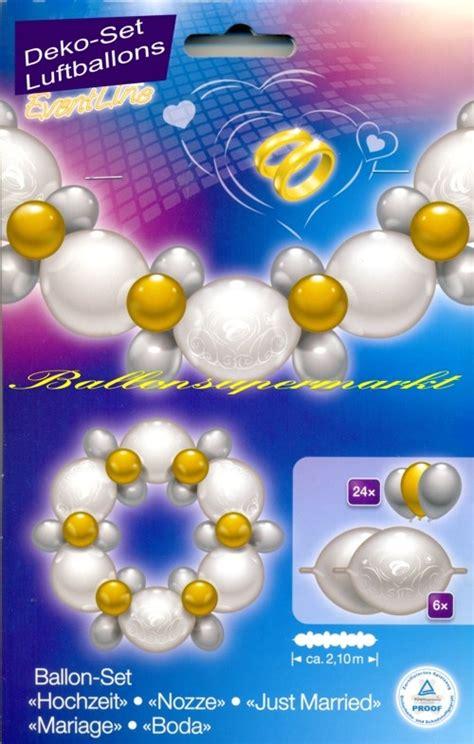 Deko Zur Hochzeitsfeier by Deko Set Luftballons Hochzeit Lu Deko Set Luftballons