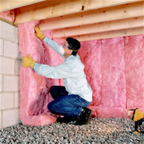Owens Corning Basement Finishing by Insulating Conditioned Crawlspaces Residential