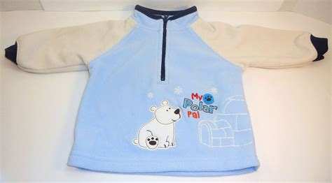 Carters Jumper Boy 3 Month s fleece boys blue pullover sweater 0 to 3 months