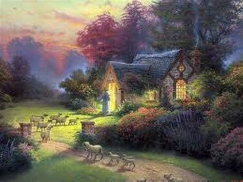 paintings of cottages the shepherd s cottage the kinkade company