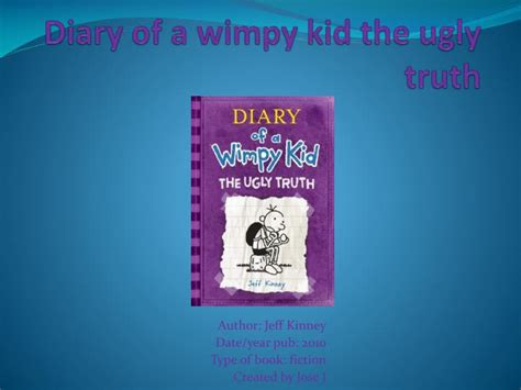 diary of a wimpy kid the book report ppt diary of a wimpy kid the powerpoint