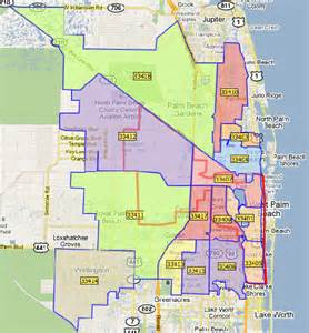 Palm Beach Zip Code Map by West Palm Beach Florida Zip Code Map W Wall Decal