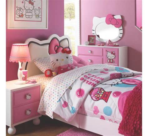 girls bedroom ideas for small rooms cute girls bedroom design ideas with hello kitty theme for