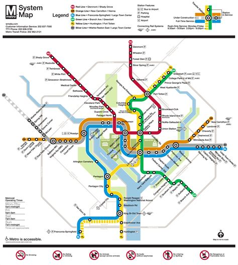 dc subway map planitmetro 187 metro unveils silver line map
