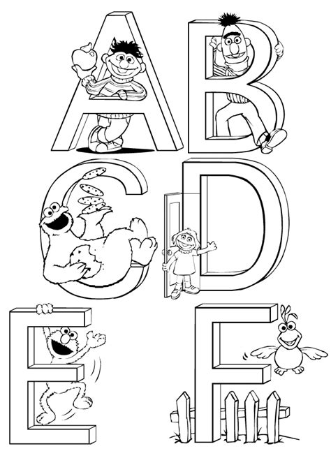 printable coloring pages sesame street sesame street count coloring pages coloring home