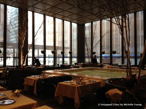 Four Seasons Grill Room by Inside The Four Seasons Restaurant In The Seagram Building
