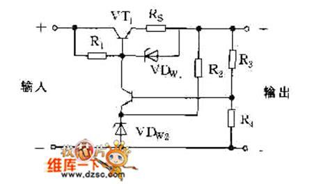 diode protection circuit diagram the protection circuit diagram adopted zener diode vdw1 control circuit circuit diagram