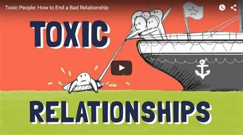 Detox Your Toxic Relationships Exercise by Toxic How To End A Bad Relationship The Minds