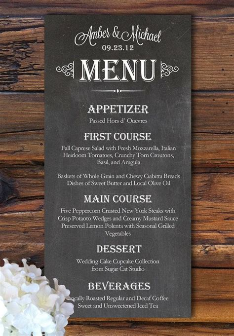 how to make wedding menu cards 25 best ideas about wedding menu cards on