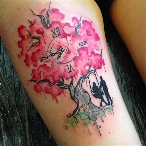 70 of the prettiest cherry blossom tattoos