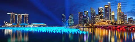 Marina Bay Singapore Panorama Wallpapers   HD Wallpapers