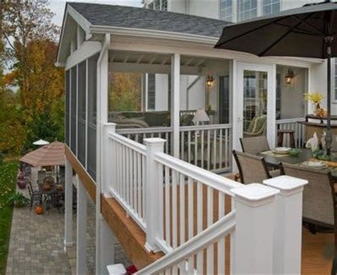 sunrooms screen porches decks pergolas patio covers 78 best images about covered 2nd floor deck sunroom on
