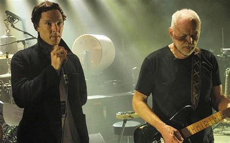 comfortably numb david gilmour benedict cumberbatch sings comfortably numb with david