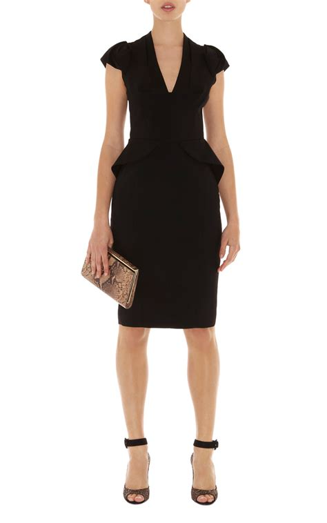 black peplum dress picture collection dressedupgirlcom