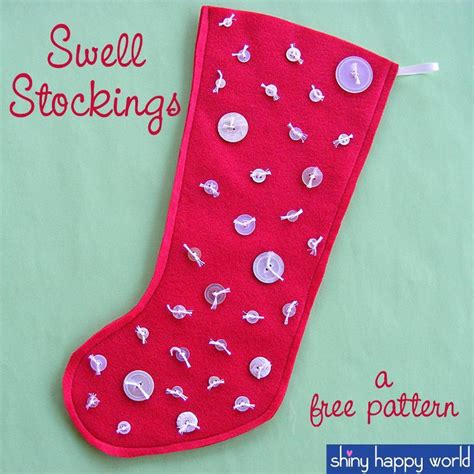 sewing pattern for mini christmas stocking swell christmas stockings easy pattern by wendi gratz