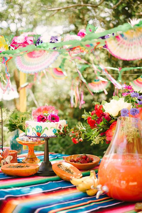 Texas Themed Home Decor mexican themed kids party ideas kids birthday parties