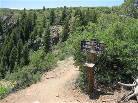 four corners hikes telluride: rim rock trail and uplands