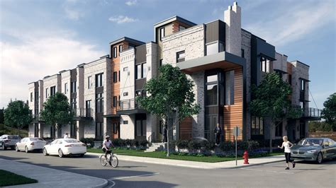 3d Houses For Sale modern townhouse rendering bobby parker