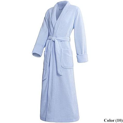 full length bathrobe full length fleece robe for women 16460 save 77