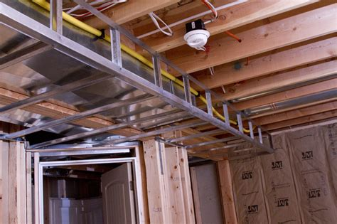 installing drywall ceiling in basement framing a basement ceiling for drywall rooms