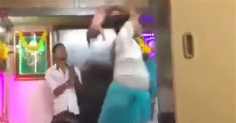 uk swinging videos disturbing footage shows man swinging baby by feet in