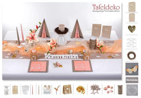 Tischdeko Hochzeit Apricot by 18 Mustertisch In Apricot Tischdeko Kommunion