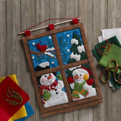 Felt Decor by Shop Plaid Bucilla 174 Seasonal Felt Home Decor Door