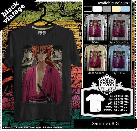 Kaos Samurai X 47 kaos kreasimu clothing brand 602 photos