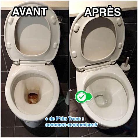 Comment Nettoyer Les Toilettes 4226 by L Astuce Efficace Pour D 233 Crasser La Cuvette Des Wc