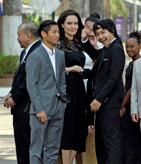angelina jolie struggling to keep children happy after angelina jolie kids memorial day plans bbqing more