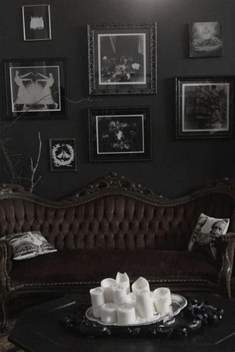 dramatic home gothic decor design ideas  reek  boldness