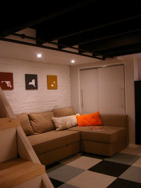 Unfinished Basement Ideas On A Budget Remodelaholic Home Sweet Home On A Budget Finish Their Basements