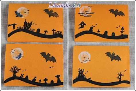 tarjeta animada para halloween halloween tarjetas ideandoart tarjetas diy para halloween